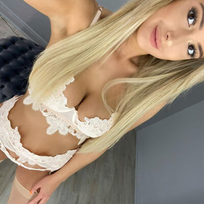 Alyssa Bra and Thong Set Cream